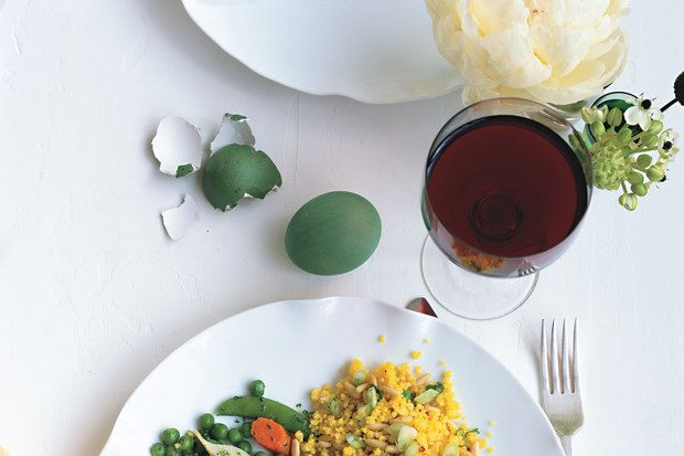 Saffron-Scented Couscous with Pine Nuts | Recipe | Couscous, Pine and ...