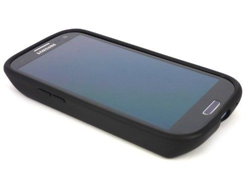 [180 days warranty] ZeroLemon Samsung Galaxy S III 7000mAh Extended Battery + Free Black Extended TPU Full Edge Protection Case(Compatible with Samsung Galaxy S III GT-i9300, AT&T Samsung Galaxy S3 Samsung i747, Verizon Samsung Galaxy S3 Samsung i535, T-mobile Samsung Galaxy S3 Samsung T999, U.S. Cellular Samsung Galaxy S3 R530, and Sprint Samsung Galaxy S3 Samsung L710) ***NFC for S Beam and Google Wallet***- WORLD'S HIGHEST S3 BATTERY CAPACITY **USA PATENT PENDING DESIGN**- Black  ..