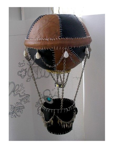 steampunk decorations - could be big and hanging from the ceiling or small as table centerpieces - or BOTH