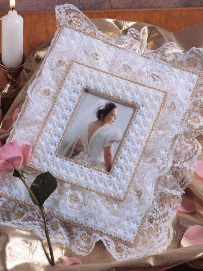 Plastic Canvas - Accessories - Frames - Gilded Lace Album Cover - #FP00052