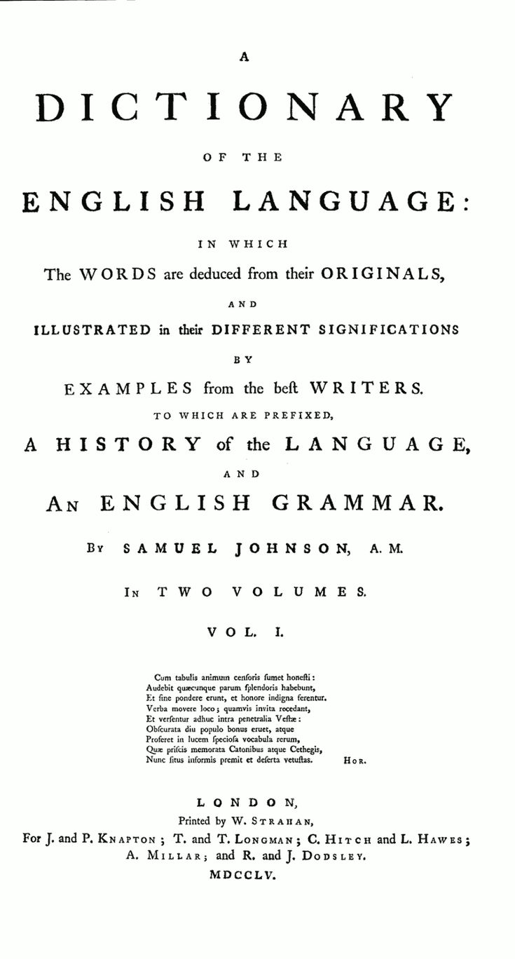 dictionary of the english language online