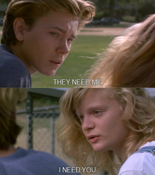 River Phoenix and Martha Plimpton-- Danny Pope and Lorna ...