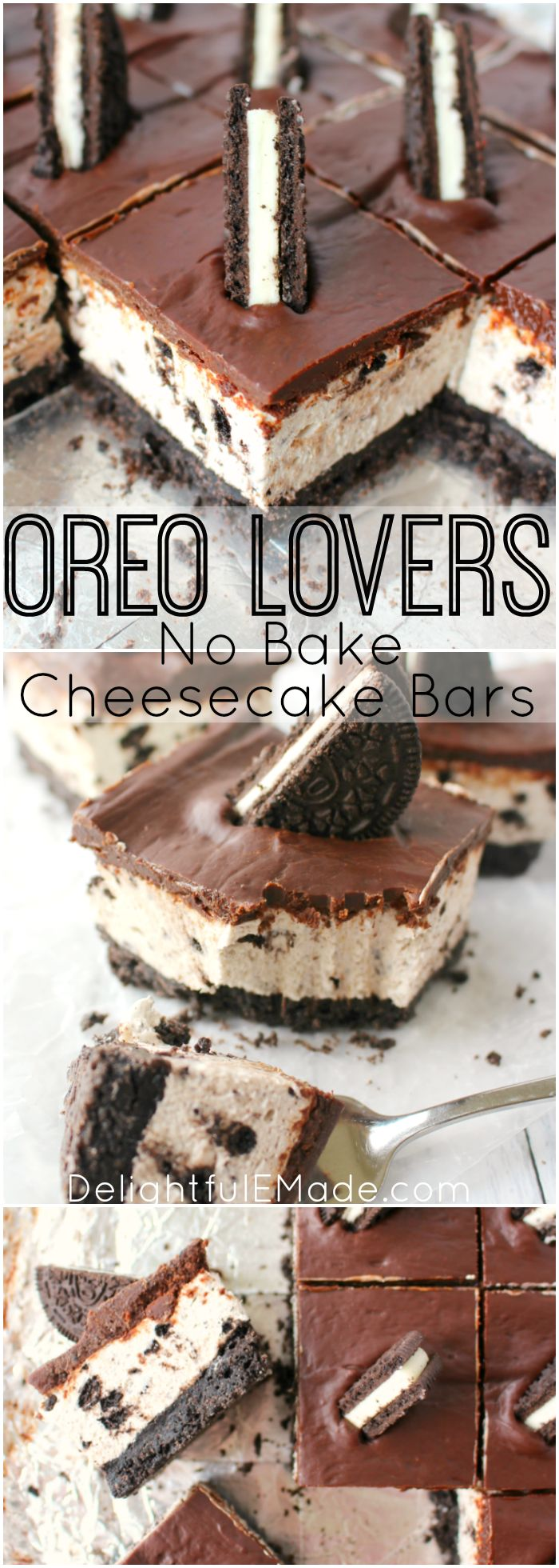 Deser williams pictures to pin on pinterest - The Ultimate Dessert For Anyone That Loves Oreo Cookies A Thick Oreo Crust Creamy