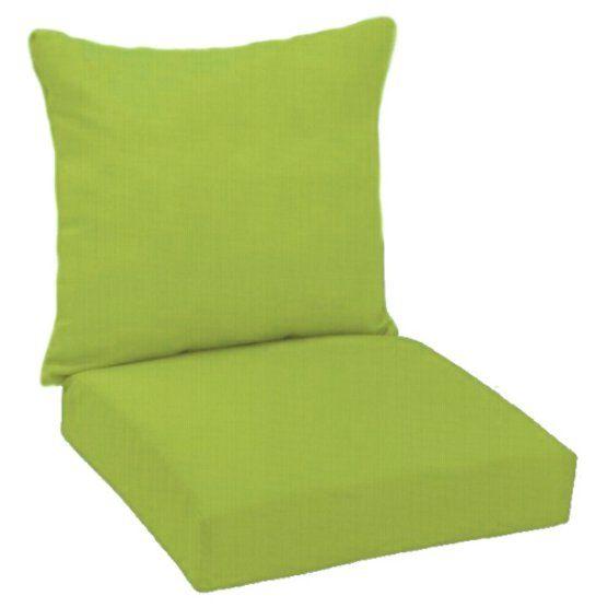 Fiberbuilt Paradise Cushions Sunbrella Deep Seating Chair Cushion Deep Seating Deep Seating Chair