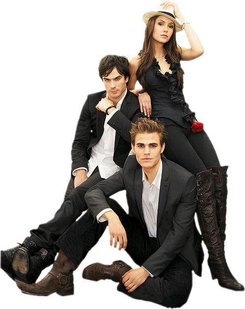Thaynara Bottignosi: PNG The Vampire Diaries (todos do elenco estão aqui)