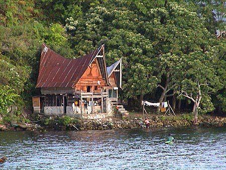 Le lac Toba à Sumatra Indonésie