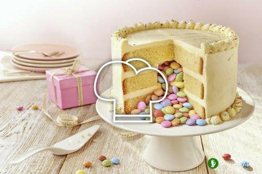 Tort Piniata #cake #bake #sweet