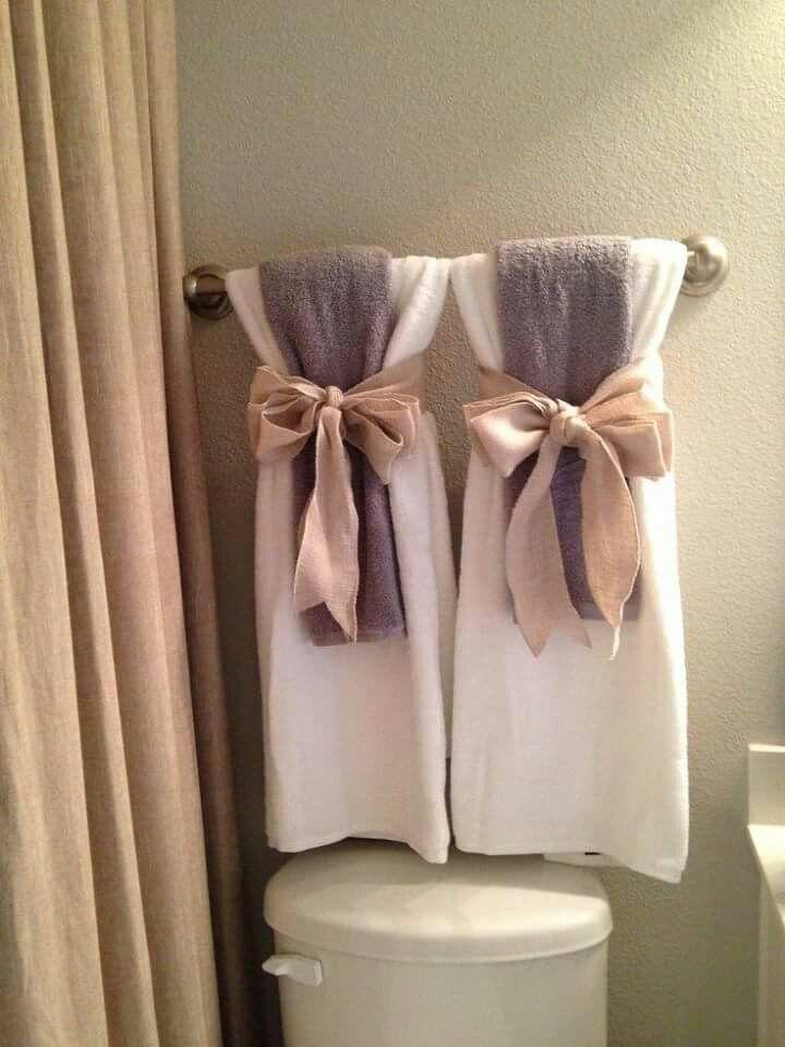 21 Best Decorative Towel Folding Images On Pinterest