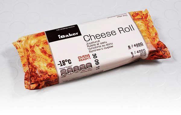 Kemasan Roti Biskuit dan Kue - Packaging iBaker   Contoh Desain