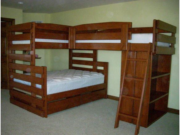 1000 Ideas About Full Bunk Beds On Pinterest Girls Bunk