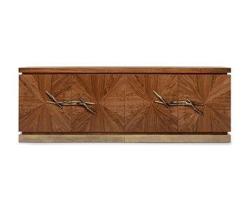 WALNUT Sideboard designed by Pedro Sousa, Ginger & Jagger Studio for GINGER&JAGGER