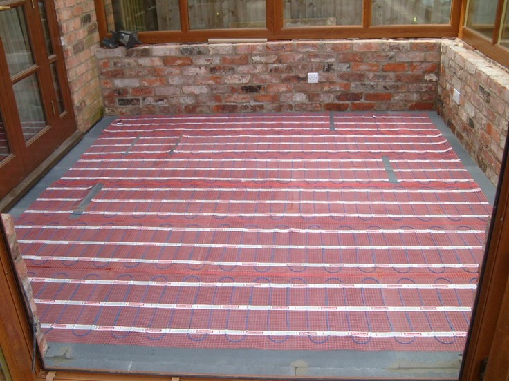 7 best underfloor heating installation guide images on pinterest check the mat is working and not damaged before this stage commences roll the mat out but do not stick it down until you are sure you have evenly covered solutioingenieria Choice Image