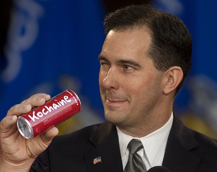 Wisconsin Republicans abandoning Scott Walker...after electing this POS, Republicans are figuring out that the state economy is circling the bowl to enrich the Koch Brothers