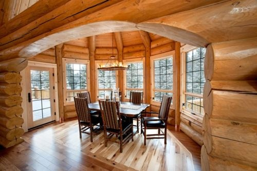 44 Best Images About Other Log Cabin Interiors On