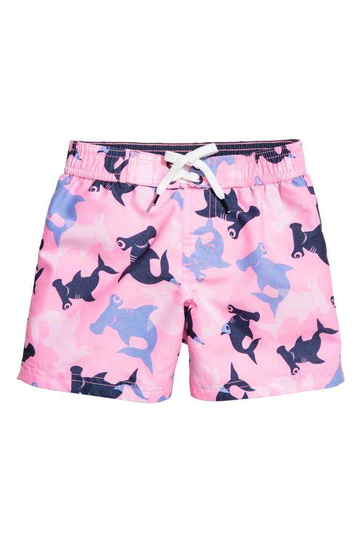 Costume da bagno fantasia - Rosa chiaro/squalo - BAMBINO | H&M IT 1