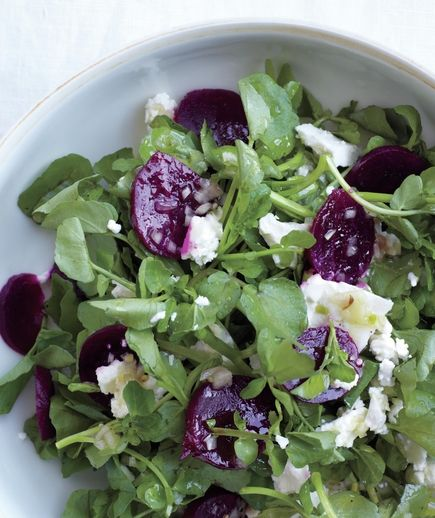 Watercress Salad With Beets and Feta Real Simple 12 Simple Watercress Recipes