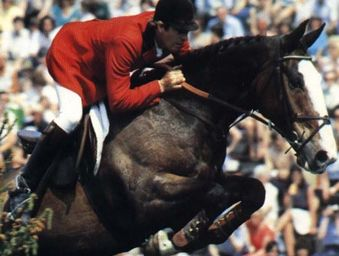 Ryans Son, John Whitaker's horse, a legend in the showjumping world