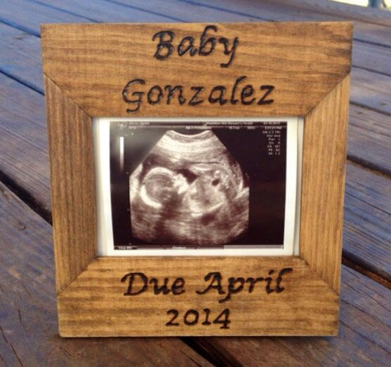Ultrasound Picture Frame - Custom Engraved Picture Frame - Wooden Picture Frame - Sonogram Frame by CountryBarnBabe on Etsy  https://www.etsy.com/listing/166927104/ultrasound-picture-frame-custom-engraved  Check out Prenatal Imaging Centers to schedule your ultrasound today!  Gender ultrasound sessions ONLY $60!!   Perfect for your gender reveal party!  www.seeyourbaby4d.com