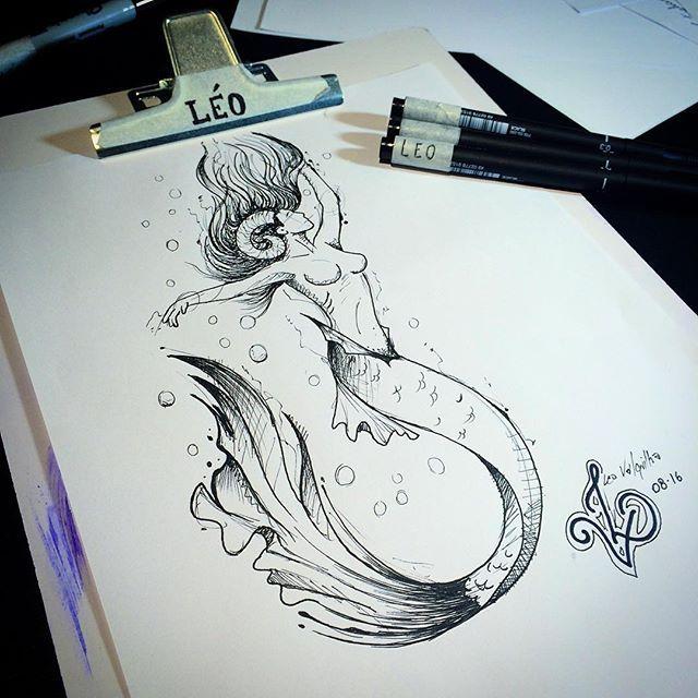 Léo Valquilha (@mr.torture) on Instagram: Tenho certeza q esse desenho vai tocar na alma de alguém haha #leovalquilha #tattoo #tatuaje #tatuagem #tattoage #tatuaggio #tatuadoresbrasileiros #tattooart #tattoobrasil #ink #inked #tatuadoresdobrasil #tattoo_clube #tattoaria_oficial #tattoariahouse #desenho #drawing #art #arte #sereia #mermaid #sirena #nanquim #sketch