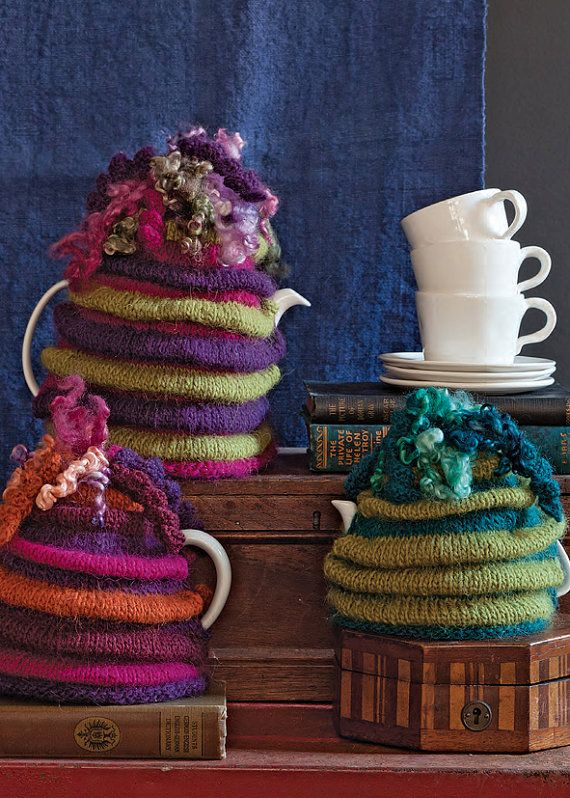 Wensleydale Tea Cosy KNITTING PATTERN from by JeanMossHandknits  -FOUND ON RAVELRY.COM