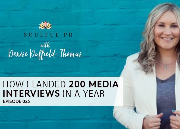 How I Landed 200 Media Interview in a Year
