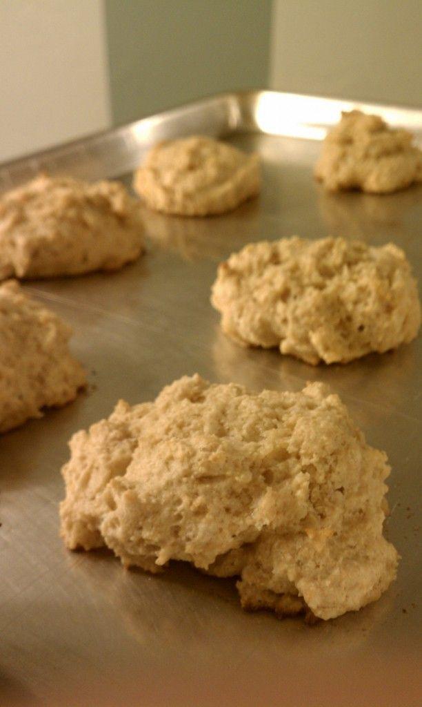 3-Ingredient Kodiak Cakes Drop Biscuits
