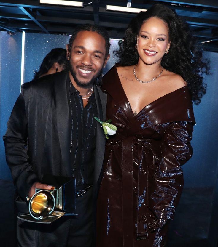 ❤️❤️❤️ #Rihanna #kendricklamar #Grammys