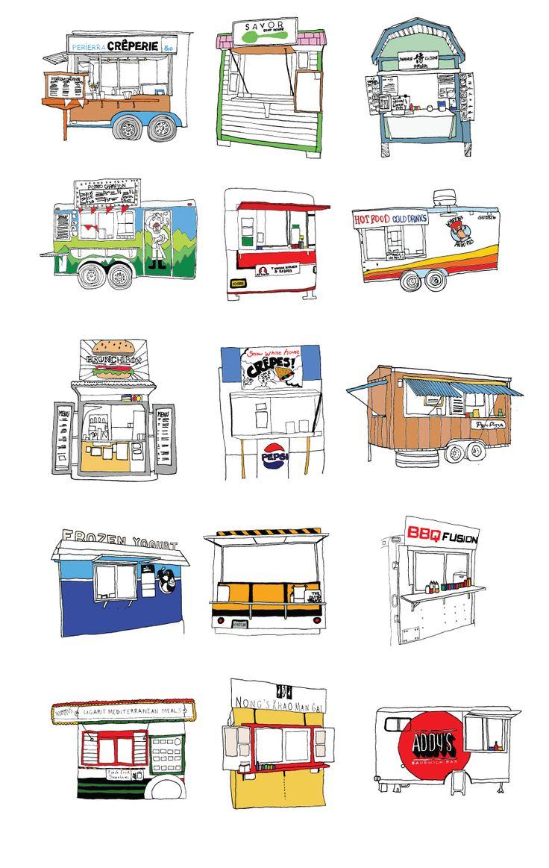 Portland Food Carts - Allison Berg