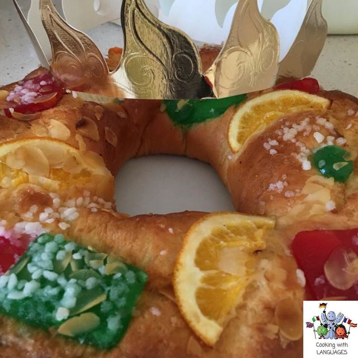 """Mmmm ... Roscón de Reyes   This dulce is traditionally eaten on January 6 during the celebration of the Día de Reyes (literally """"Kings' Day"""") which commemorates the arrival of the three Magi or Wise Men. In most of Spain Spanish America and sometimes Hispanic communities in the United States this is the day when children traditionally get presents which are attributed to the Three Wise Men (and not Santa Claus or Father Christmas). We will be sharing a simple and scrummy recipe soon…"""