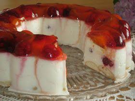 moje záľuby...: Jogurtová torta (krok za krokom)