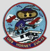 USS Hornet CVA-12 Badge