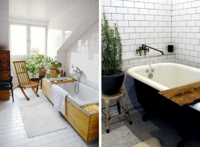 5 Favorites: Plants for the Bath Gardenista: Outdoor Bathtubs, Bathroom Plants, Pots Rosemary, Bathroom Envy, Houses Plants, Rosemary Plants, Bathtubs Boards, Bathroom Windows, Plants In Bathroom