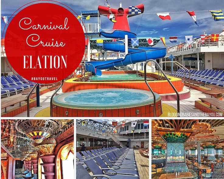 Up Close & Personal Aboard Carnival Cruise Elation - New Orleans & Jacksonville Ports