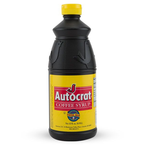 Autocrat Coffee Syrup is the (not so) secret ingredient used in the delectable concoction known as coffee milk.