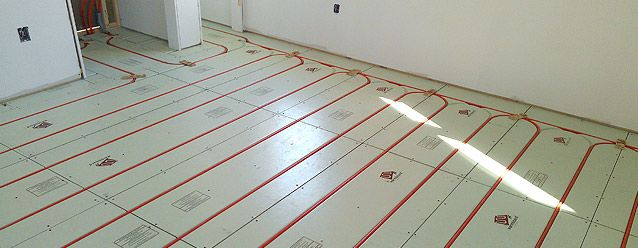 63 best house plans images on pinterest house floor for Radiant heat flooring options