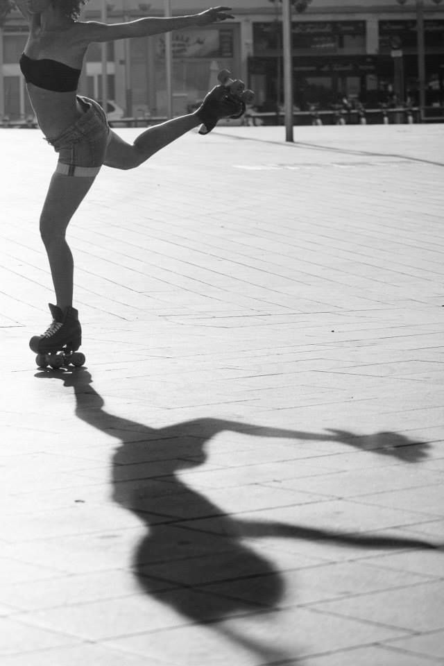 Michelle Barrios, Founder of BCN Roller Dance, Barcelona Spain © wijkmarkphoto.com