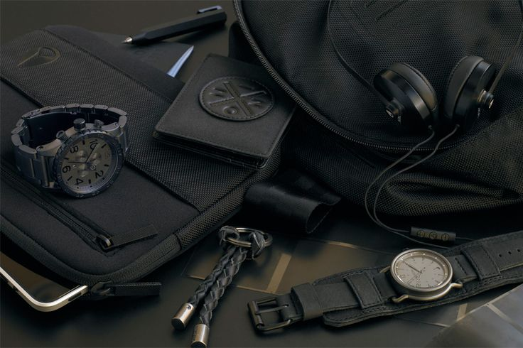 slick/stealthSlick Stealth, Lifestyle Collection, Stealth Collection, Nixon Holiday, Men Fashion, Holiday 2011, Nixon Lifestyle, Accessories, Black