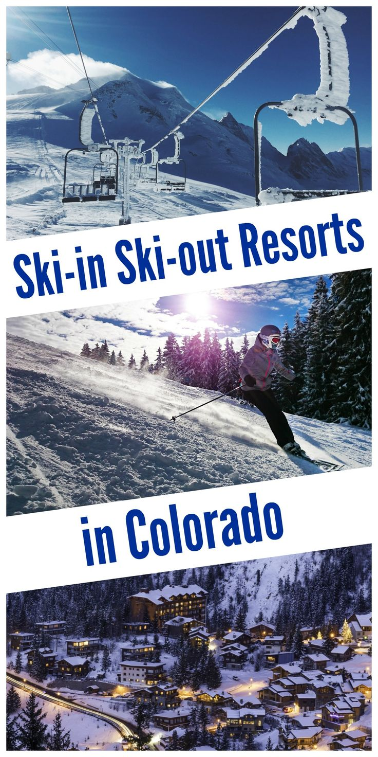 Ski-in ski-out resorts in Colorado: Breckenridge, Keystone & Copper Mtn -- perfect for family ski trips this winter!