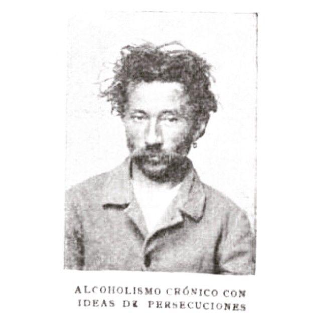 Alcoholismo crónico con ideas de persecusiones #1902 #argentina #buenosaires #ads #vintage