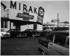 Chevy Dealership El Paso >> 76 best Vintage Car Dealership Pics images on Pinterest | Old school cars, Vintage cars and ...