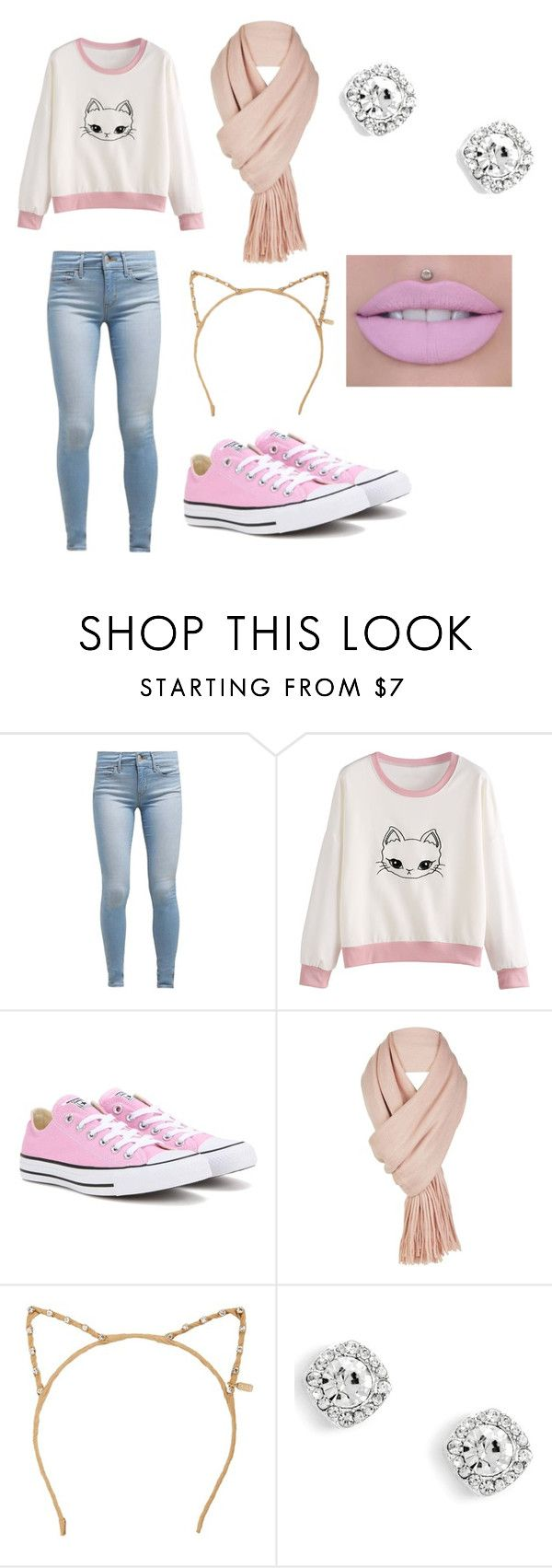 """""""Getting ready for Christmas """" by galaxygirl78 on Polyvore featuring beauty, Levi's, Converse, Free People and Tasha"""