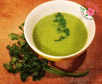ekoMalwa - Poczuj jak smakuje zdrowie: Fit Zupa krem Brokułowa