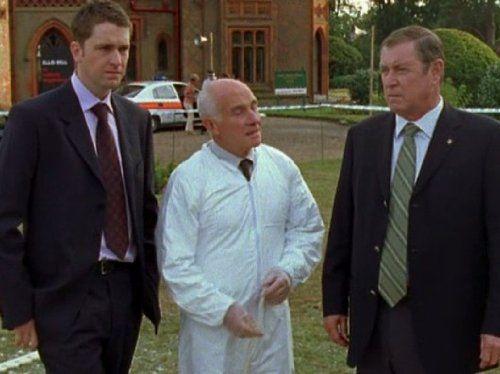Daniel Casey, Barry Jackson, and John Nettles -- Midsomer Murders (1997)