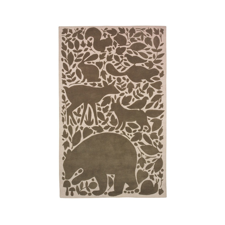 Dwell S Woodland Tumble Rug And Baby Makes 3