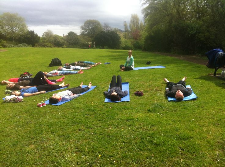 Our first session of Inverleith Park Yoga & Picnic! Every Sunday 12pm. #yoga #edinburgh