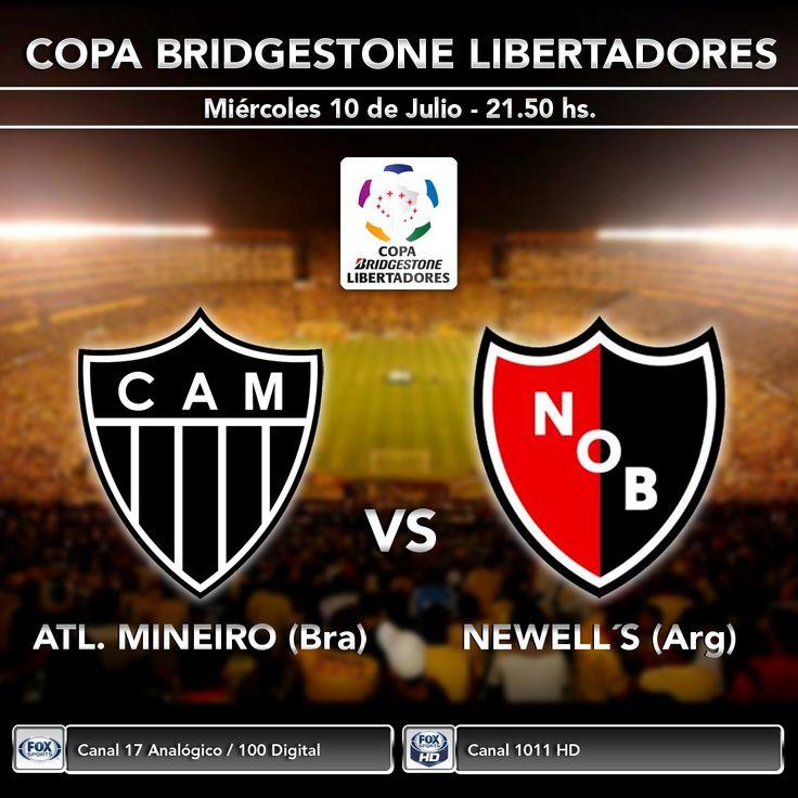 Esta noche se define un nuevo finalista de la Copa Libertadores. Newell's visita al Mineiro de Ronaldinho con la esperanza de llegar a una nueva final. ¡Seguilo en vivo desde las 21.50hs por Fox Sports y Fox Sports HD!