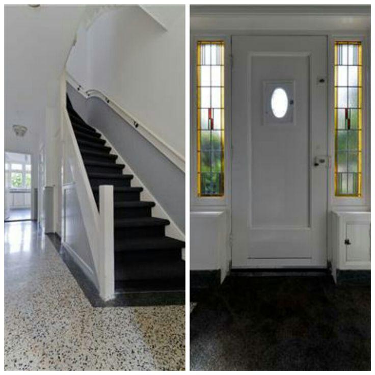 Luxe, ruime en moderne jaren '30 woning te koop in het oude dorp van Leiderdorp. Voor meer informatie kunt u kijken op Funda. http://www.funda.nl/koop/leiderdorp/huis-84556209-acacialaan-8/ #jaren 30 trap in modern huis