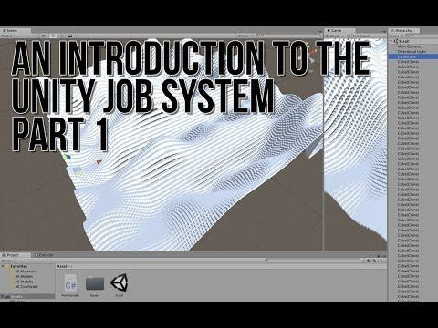 An Introduction to the Unity Job System Part 1: Perlin Cube