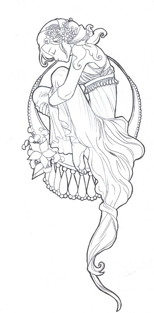 Art Nouveau by tarorae.deviantart.com on @deviantART