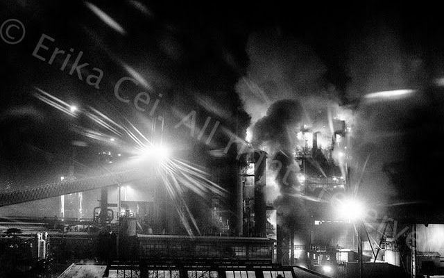 La ferriera di Servola negli ultimi due mesi Vivere nei pressi di un vetusto stabilimento siderurgico può rivelarsi un vero e proprio incubo fatto di fumo, odore disgustoso, polvere di ferro e di carbone #ferriera #servola #trieste #aia